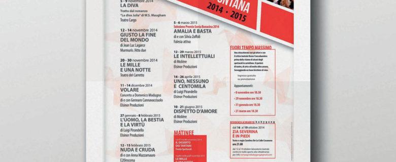 Teatro Sala Fontana – Stagione 2014/2015