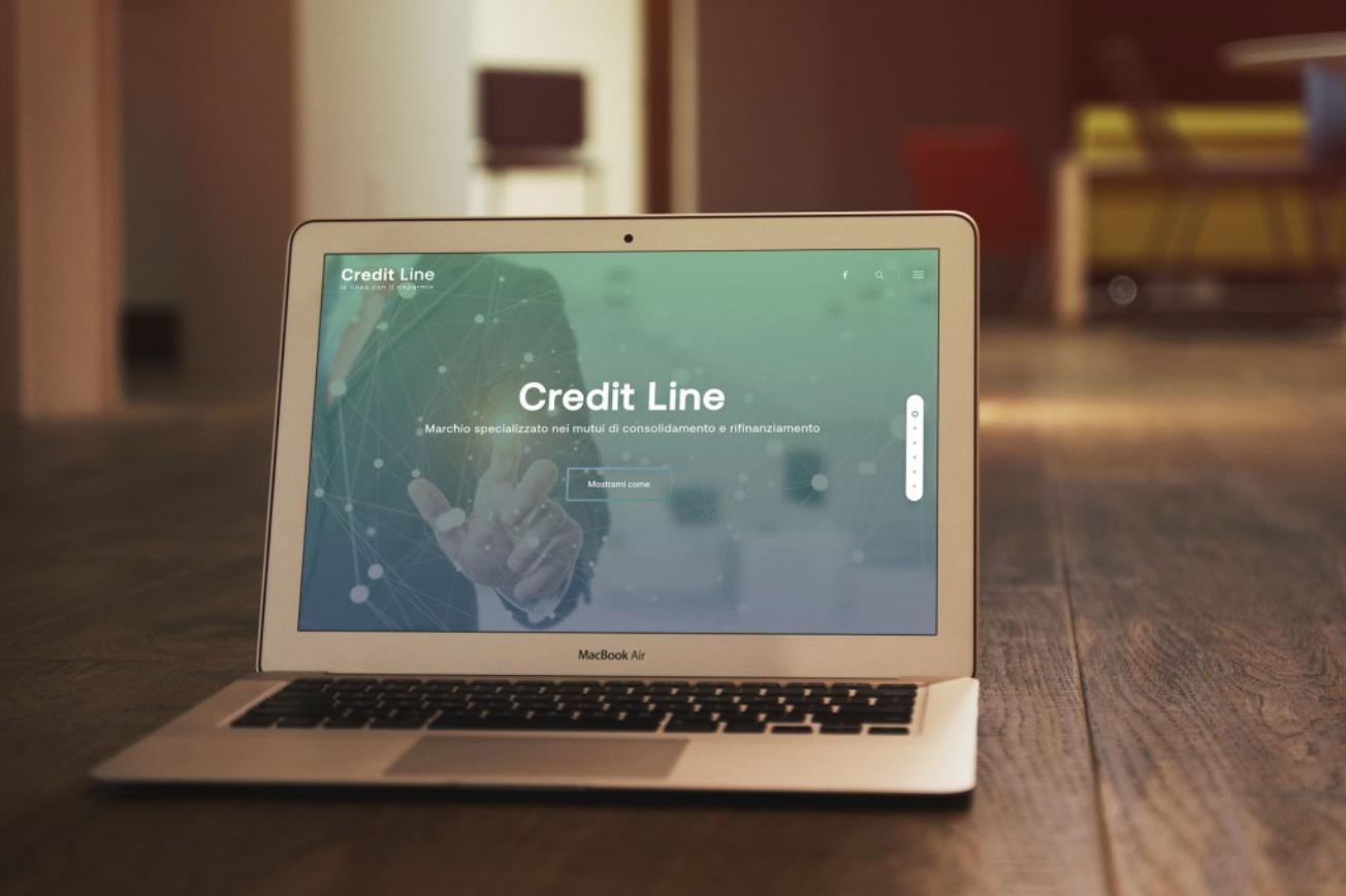 CreditLine – Web site